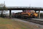 KCSM 4524 Westbound