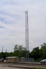 BNSF radio tower