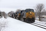 Three GEVO's bring Q326 east through Grandville