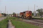 PRLX 212 & KCS 4795 start west with Q327-23