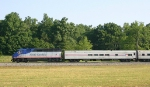 Amtrak 80 flies by