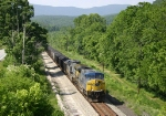 Eastbound hopper train 