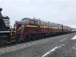 PRR E8 5711 at Conklin Yard