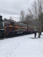 PRR E8s 5711 & 5809 at Bainbridge NY
