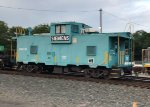 A re-purposed caboose
