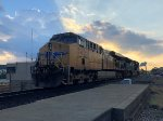 UP 5436 at Sunset