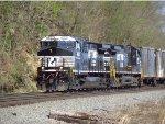 2 GE rebuilds leading a Garbage Train