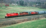CP 4233 leads 556 south