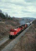 Train 556 at Pony Farm rd
