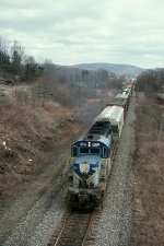 DH 5022 pulling off the control siding
