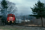 CP 4233 swings train 556 downgrade