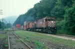 Train 553 at West Richmondville