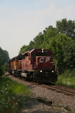 CP 5419 charges north