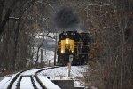 CVSR 1822 has crossed North & Walnut Sts.