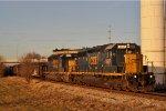 CSXT 8857 On CSX Q 351 Southbound Last Lite