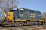 CSXT 2750 Looking For Work At New River Yard