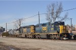 CSXT 2015 On CSX X 509 Eastbound Lite Power Only Set The Train Off At New River Yard