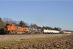 BNSF 8586 On NS 174 Westbound