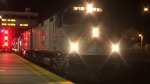 JPBX 919 leads the Caltrain Holiday Train back North