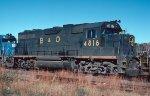 B&O GP38 4816