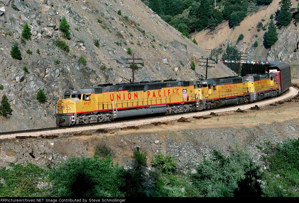 UP 6927 East
