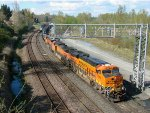 BNSF 7014 East At Lowell