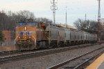 UP 7404 DPU for NB grain train