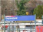 Daylesford SEPTA Station sign