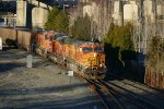 BNSF 5701 South empty coal on Rogers