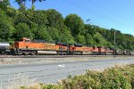 BNSF 6241 Northbound loaded coal at Bayside