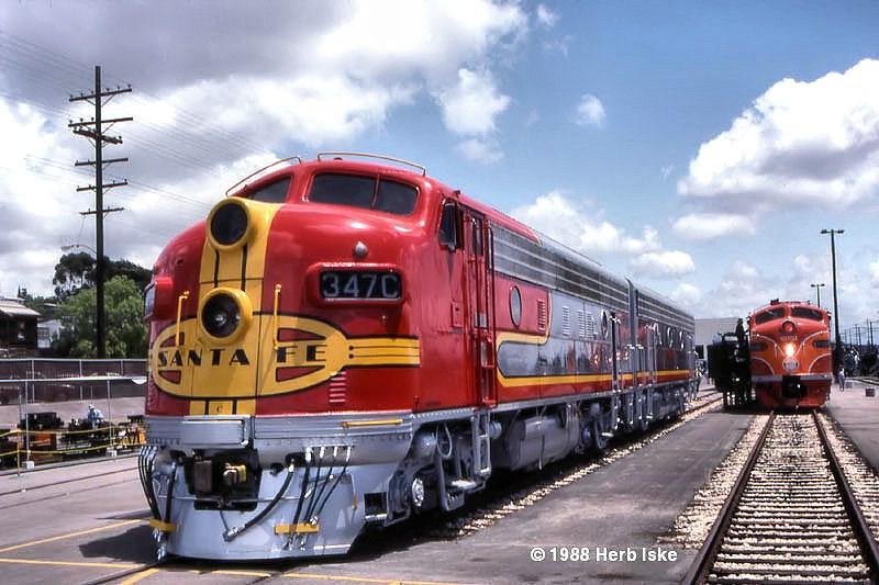 San Diego Railfair 1988