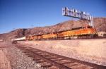 BNSF Working through Cajon Station
