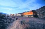 BNSF Through Cajon Station
