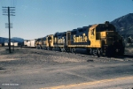Santa Fe Blue and Yellow through Devore