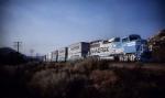 Maersk Movie Train/Cajon Crossovers