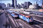 Metra Heads In And Out of Town