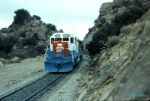"Southern Pacific ""Olympic"" unit heads for LAUPT"