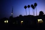 Santa Fe Depot at Night