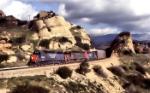 SP freight in Santa Susana Pass
