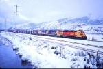 Kodachrome Through Snowy Cajon Station