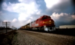Santa Fe Warbonnet FP45 heads west