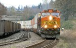 BNSF 4165 Westbound Z at Lowell