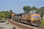 UP 5889 On NS 226 At Austell Backing Into The Pig Yard