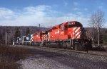 CP/D&H Bow Coal Train