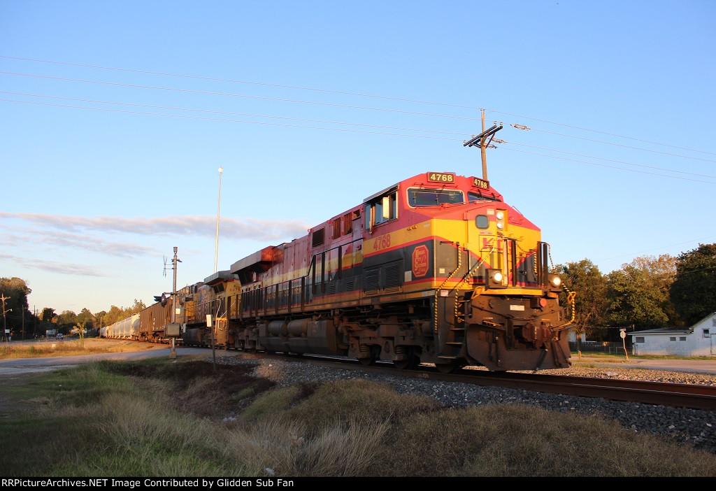 KCS 4768 leads the MLIHO