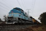 UP 4141 leads the George H.W. Bush Funeral Train