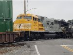 NS 1800 on its first trip to Jacksonville