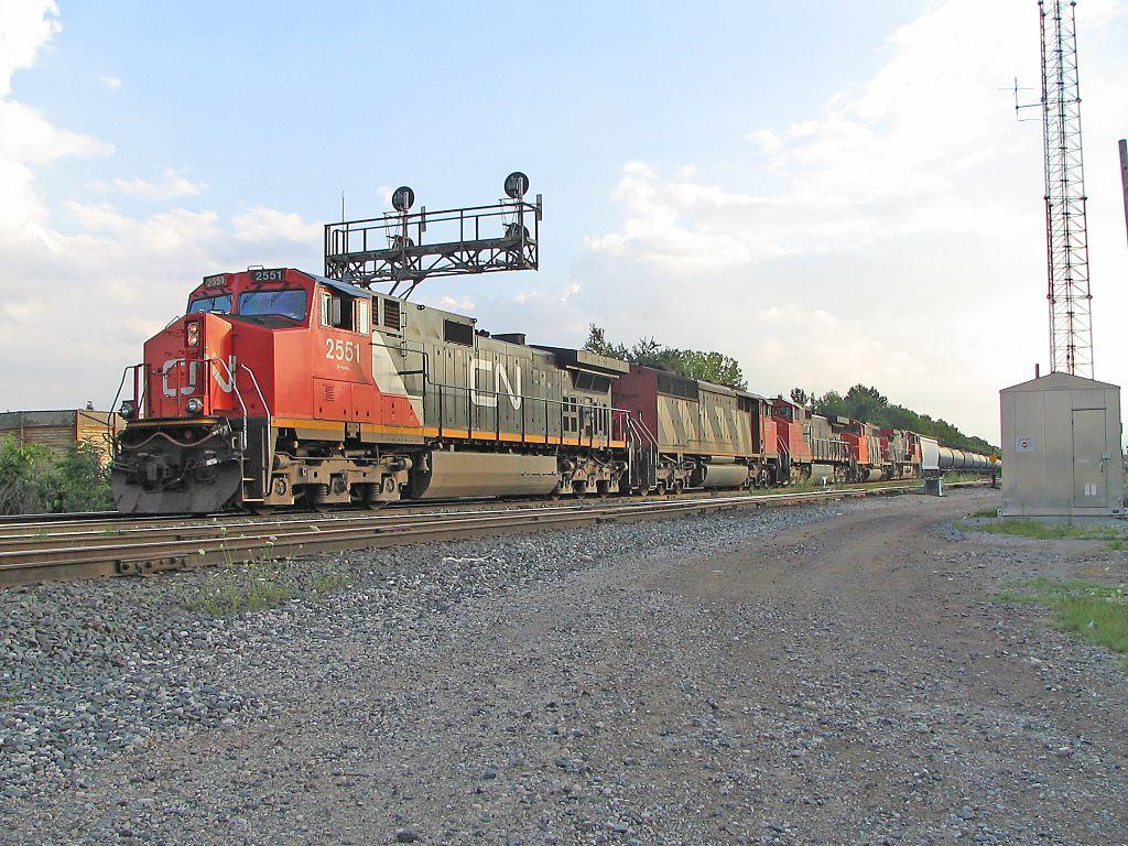 CN 2551, CN5555, CN 2507, CN 5287 & 2588