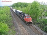 CN 5679 Coming out of Bayview Junction