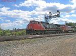 CN 2508 + BNSF 521